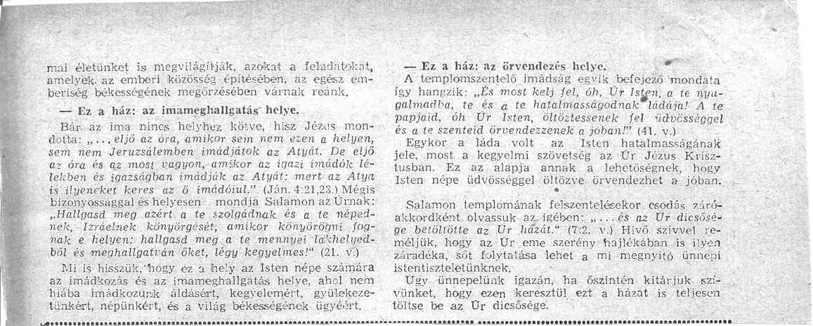 Beszámoló, 2. oldal
