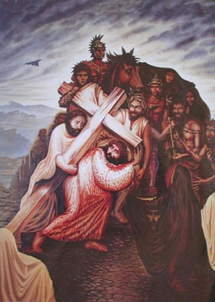 Octavio Ocampo: Jézus Krisztus