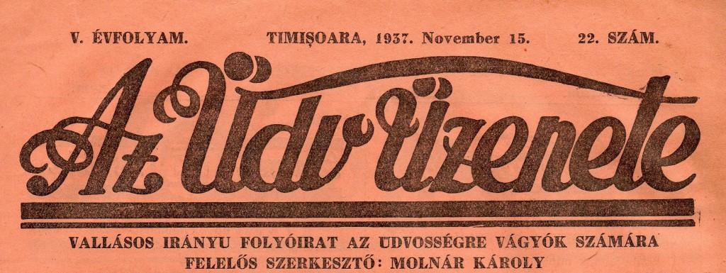 Az Üdv Üzenete (1937)