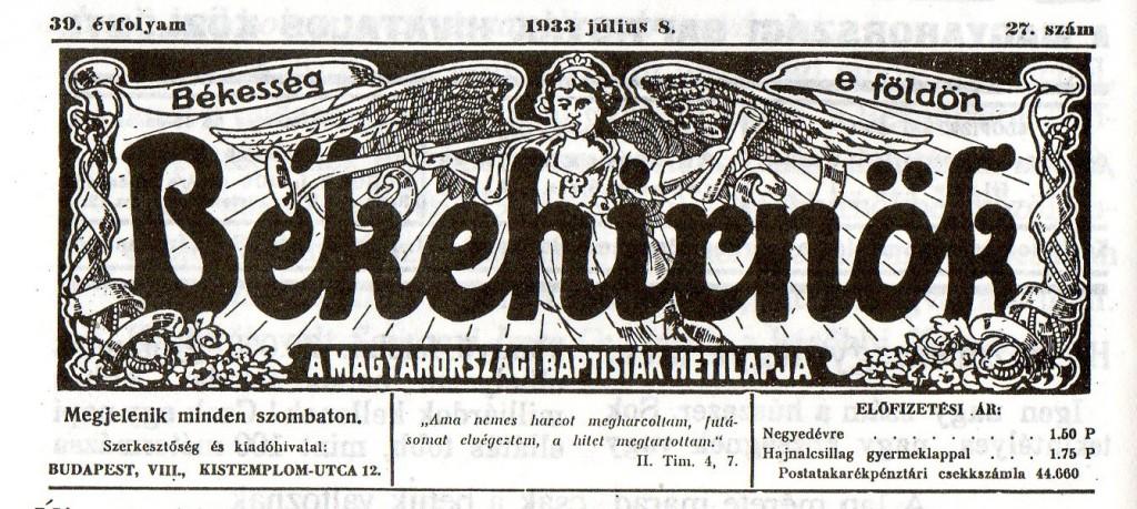 BéHi 1933