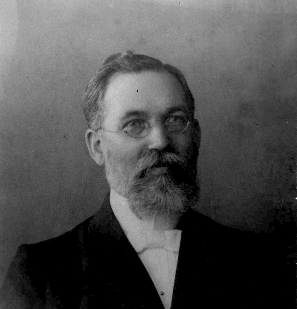 Henrich Meyer, az állami elismerés ügyének legfőbb munkálója,  majd akadályozója (Baptista Levéltár)