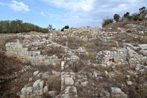 Samaria városát II. Sargon lerombolta (ie. 722–721) (Forrás: http://www.biblewalks.com/sites/samariacity.html)