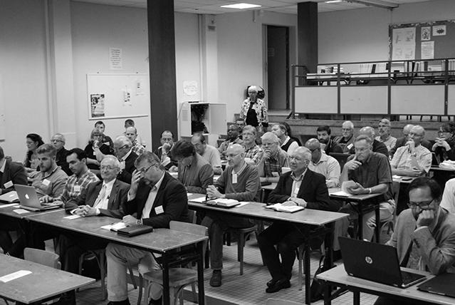 A plenáris ülések hallgatósága